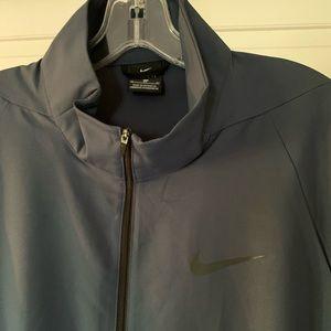 Nike lightweight coat dark grey size Xl.